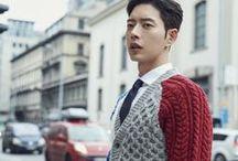 Asian Sweater Guys Park Hae Jin