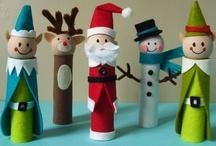 Kerstmis knutselen