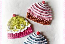 Crochet funny hats