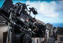 On Set / Photographies de tournages.