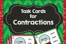 Task Cards / Please add your task cards! 5 a day limit....feel free to throw in an occasional task card storage idea!