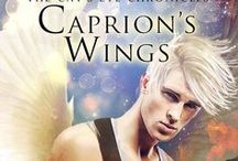Caprion's Wings by T. L. Shreffler / Concept board and quotes.