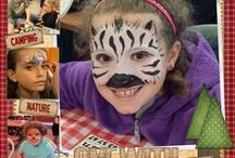 Face painting by Fancy Faces of Rochester / by Kristen Peden