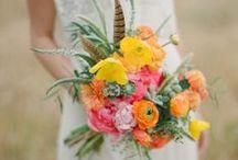 Ramos / Wedding Bouquets / Inspiración de Ramos / Bouquets, flores que acompañan la novia.