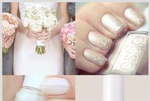 Uñas / Nails / Inspiración en uñas para el día de tu boda.