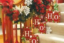 Christmas Decorations / Seasonal crafts, DIYs and decorations for Christmas. Santa, Christmas Trees, Garlands and more. [Collection by: http://twopluscute.com ]
