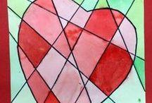 Valentijn tekenen