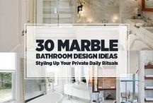 Bathrooms & their accessories / Anything Bathroom: Design, Sinks, Showers, Toilets, Bathtubs, Lights, Tile, Closets, Ideas and Bath Decor.  [ Collection by: http://twopluscute.com ]