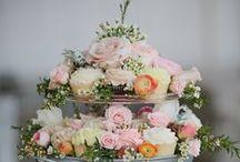 tortas / wedding cakes / Inspiración en mesas de postres y tortas para bodas