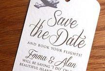 Invitaciones / Save the date / Invitaciones para tu boda, matrimonio / wedding inspiration.