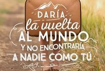 Frases de amor / Love Quotes