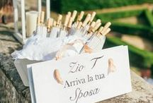 Wedding Accessories and Ideas / Shoes, hairpieces, jewellery, signs and all the accessories which make up an important part of your Italian wedding.