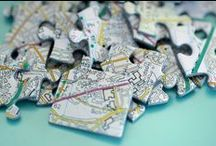 Personalized Map Gifts / Why not immortalize a place, zipcode or area you hold dear with a Personalized Map Gift. Whether it be the place you first met your 'other half' or even where your favorite sports team stadium is, you can personalize with any address of your choosing!