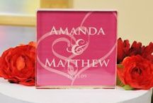 Wedding Decorations / Distinctively designed with you in mind, each one of our Personalized Wedding Decorations, from Aisle Runners to Wedding Banners, will add the perfect finishing touch to your already beautiful ceremony. Go on; beautify your big day! Let your search for Personalized Wedding Decorations start here.
