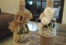 Zdobení sklenic a láhví