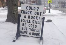 Book Humor / All things funny, silly and bookish. Inside jokes for bibliophiles ;)