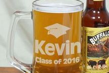 Graduation Gifts / Celebrate the next chapter with a Personalized Graduation Gift. From photo frames to engraved beer mugs, our fantastic selection of gifts for graduation is the perfect way to congratulate someone on their studies!