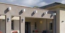 קירות חוץ | Outdoor / עיצוב הבית לא מסתיים בצביעה של פנים הבית - כך תהפכו את הבית למרשים גם מבחוץ