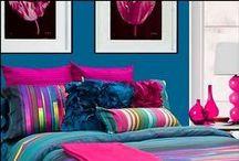 Girls rooms!!!!! / decoracion, color, mobiliario, organizacion, viniles y muchas sorpresas mas para las princesas de la casa