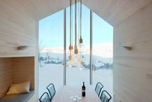 HOMES / CABINS / by Are Fredrik Berg