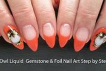 LCN Gel Nails with Nail Art / Beautiful examples of LCN Artificial Gel Nails  LCN is a non-porous gel resin, no solvent or harsh chemical, easy to work with, 100s of amazing colours! www.lcn.ca