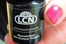 LCN Recolution Permanent Gel Polish Swatches and Art
