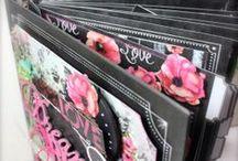 Mini Albums, Altered Folders