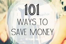 Saving Money: Smart Ideas / Tips for saving time and money around the house.