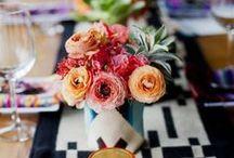 Novel and Daring Decor / Inspiring ideas for wedding design