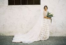 Gowns to be Wed In / A collection of gorgeous choices for a wedding gown. Traditional and non-traditional, a gown can reflect your personality, taste and sense of style.
