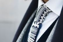 Grooms and Groomsmen / Men can be stylish too! Color, texture, shine, and pattern applies to us all:)