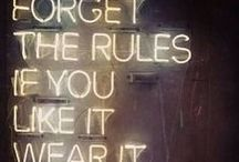 Solid Advice for the Engaged and Planning / A collection of some of my favorite advice articles collected throughout the interwebs.