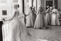The magnificent ghosts of weddings past / beautiful inspiring weddings we all wish we could have been there to witness.