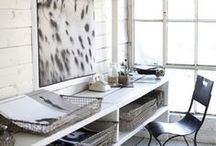 workspace | zen your desk / Using feng shui, space clearing, decor + particular items in your office, or on your work desk, to balance areas of your life and career!