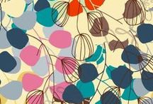 Textiles and pattern / Pretty patterns...