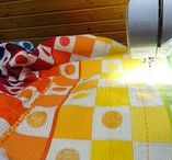 """Quilting Ideas Modern / Eigene Quilts von V. Kießling// Free Motion Quilting mit Elna eXcellence 740 """""""