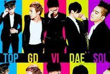 Bigbang( GDragon, Taeyang, TOP, Daesung, Seungri)