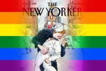 GAY COVERS ON MAGAZINES / by Claudio Sgaravizzi