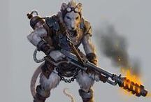 RPG - Mutant / Inspiration for the swedish RPG Mutant: År Noll and Genlab Alpha