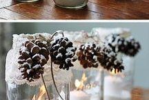 Coisinhas de Natal / Idéias para enfeitar seu Natal