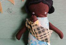 Nines / Nines de roba, muñecas de tela, ragdoll, stuffed doll, softies.