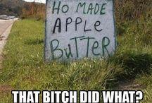 Just my sense of humour