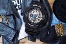 """BABY-G / Baby-G, the counterpart to """"big brother"""" G-SHOCK. Combining fashion and function for the vibrant, active girl."""
