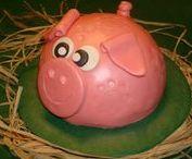 Gebak - Koek - Snoep / Cake - Candy - Pie