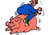 Op het varken - 1