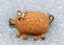 Sieraden - Jewellery / Ringen - Oorbellen - Broshes