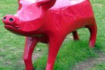 Sculpturen - Sculptures / Varkens Sculpturen