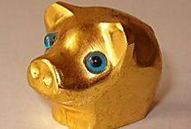 VarkensCollectie 9 - Te Koop / Deze varkens zijn te koop voor 9,98 euro per stuk - uit mijn VarkensCollectie - fml.varkens@xs4all.nl