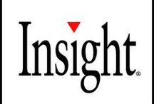 SYMBOL - Insight / Insight France propose des services aux entreprises/secteur public ainsi que des solutions IT.  Tous les trimestres, les studios intégrés l'agence Symbol conçoivent et réalisent le catalogue Insight. Il regroupe l'ensemble des produits et services que chaque marque souhaite promouvoir. Une version papier est envoyé à tous les clients et prospects et un catalogue virtuel est mis en ligne sur le site de la marque. / by Symbol Agence