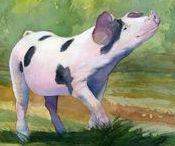 Kunst 2 - Varkens / Varkens in de Kunst - Schilderkunst